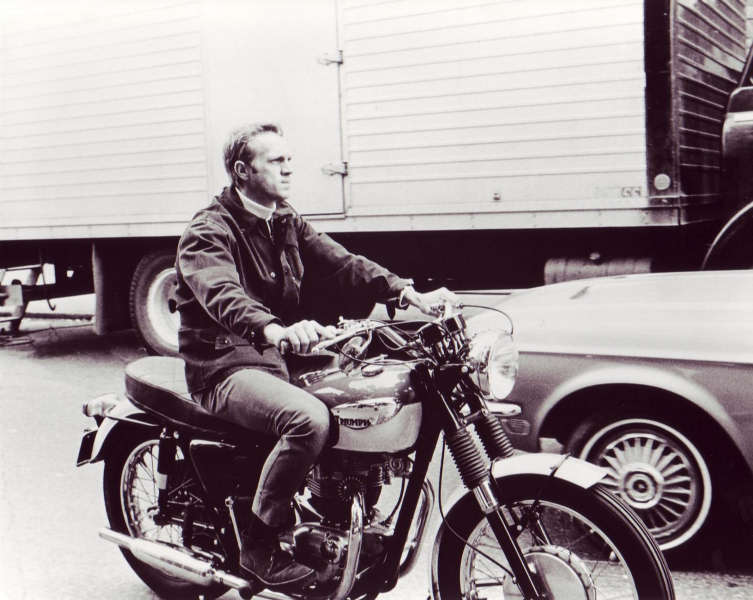 SURF COLLECTIVE NYC - Steve McQueen Motorcycle