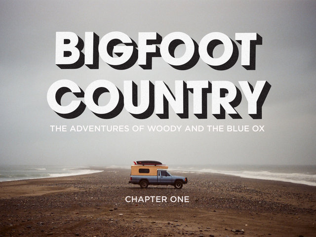Bigfoot country the adventures of woody and the blue ox 2