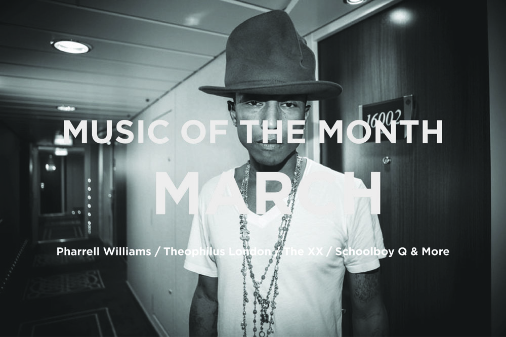 Music of the Month Graphic